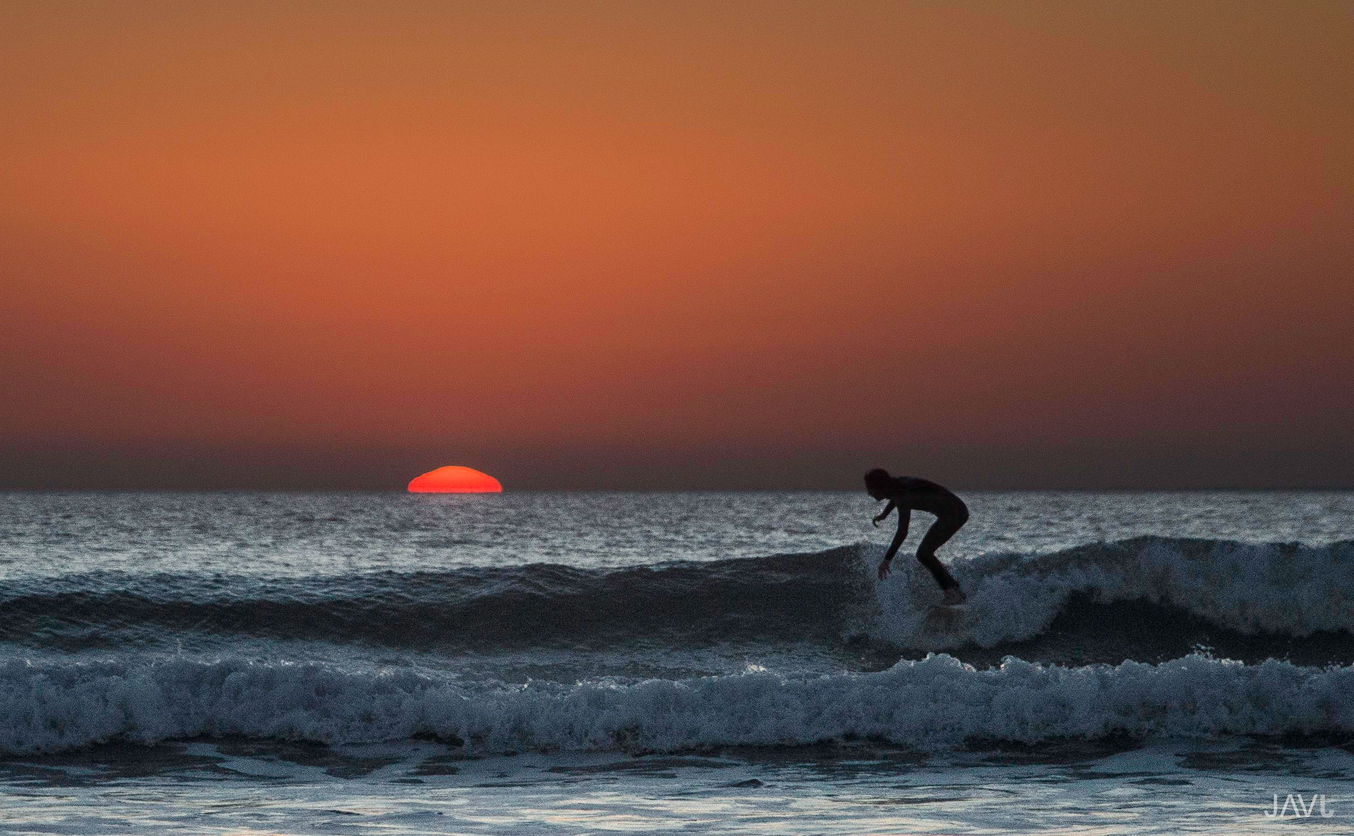 surf sunset